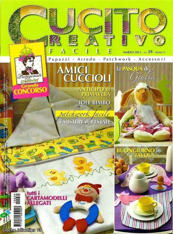 CUCITO CREATIVO FACILE №39 - 2011. Комментарии : LiveInternet - Российский Сервис Онлайн-Дневников