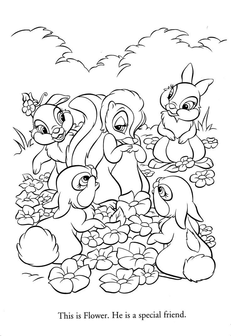 The botany coloring book by paul young - Disney Coloring Pages