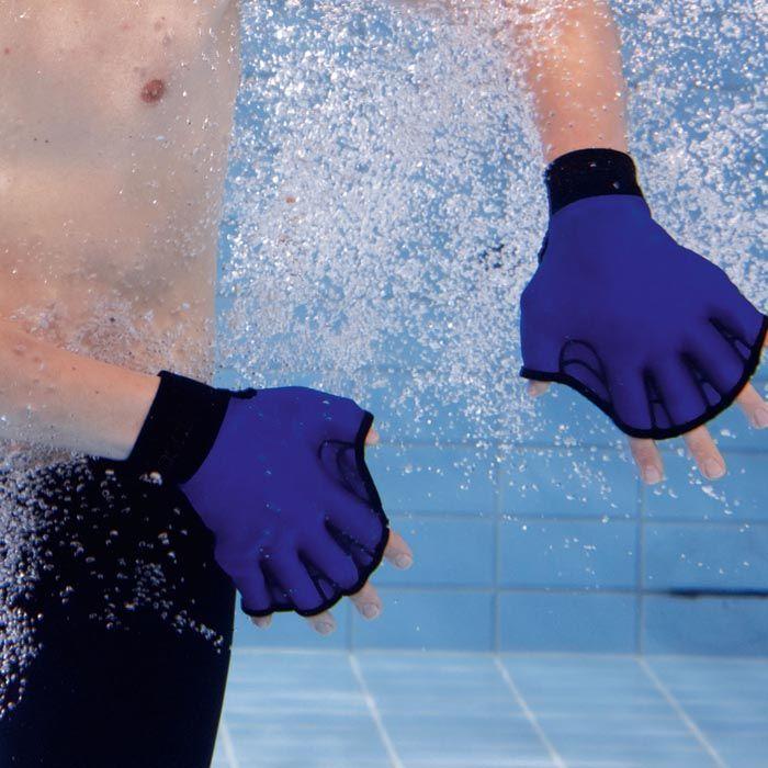 Gants palm s n opr ne pour l 39 aquagym aquagym gant et for Palmes pour piscine