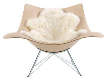 Stingray, rocking chair de Thomas Pedersen - Fredericia