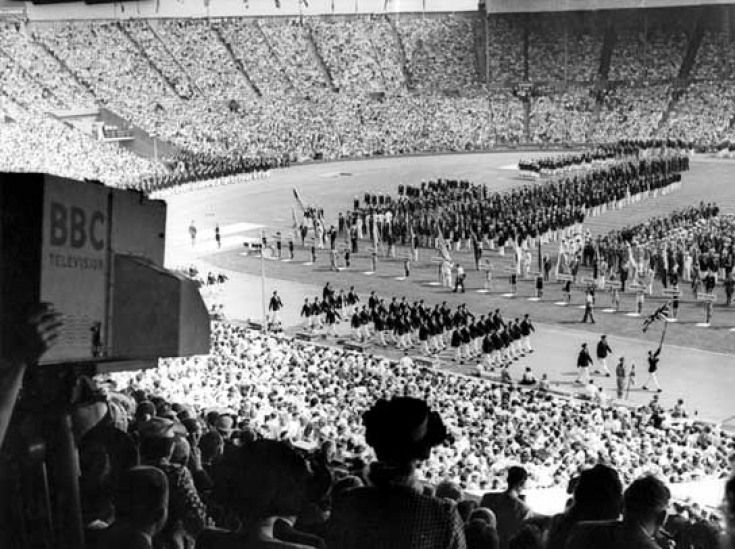 1948 London Summer Olympics - opening ceremony - Here's What London Looked Like In The 1940s | Londonist