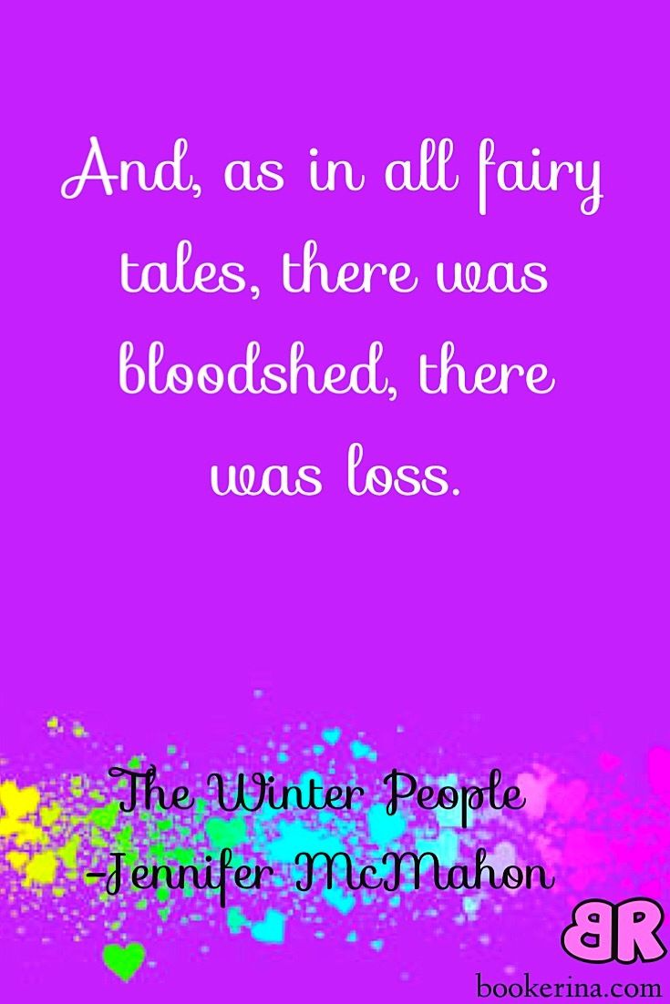 The Winter People, by Jennifer McMahon. Literary Thriller. Books to read. Book Quote.