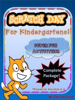 ::::::::: Released May 2016 :::::::::Scratch Day is a special network of events around the world where people congregate at different events to meet, create, and share through the Scratch programming language (and the Scratch Community). Every Scratch Day Event is different and in this package, you will find my personal suggestions to celebrate Scratch Day.