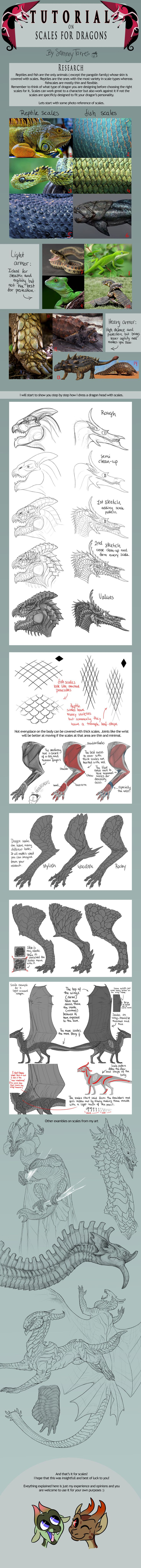 TUTORIAL: Scales for Dragons by SammyTorres