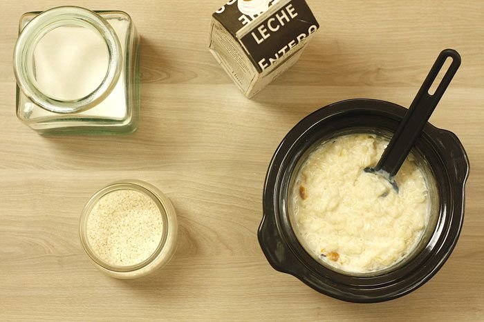Arroz con leche. Receta para Crock Pot