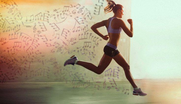 Lista de músicas para correr.