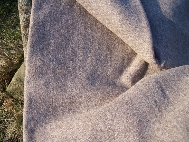 Handwoven sheep wool cloth
