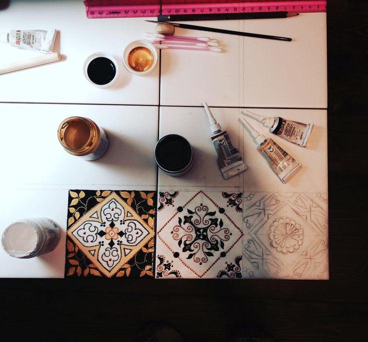 Процесс...))) #иркутскинтерьер #dotart #ceramics #pointtopoint #mandala #table #handmade #иркутск