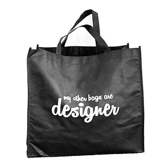 Design shopping bag van Project3design op Etsy