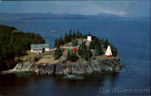Owl's Head Light, Owls Head, Maine. We lived about 3 miles down the road leading here.