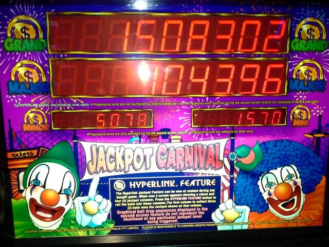 Current jackpot over $15, 000!