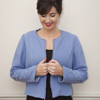 Coco jacket from Sew Over It, lined, pdf