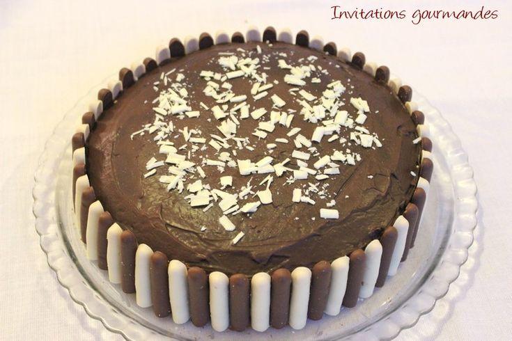 Gâteau damier chocolat - vanille   Invitations gourmandes