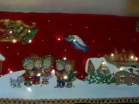 Cenefa navideñeda - YouTube                                                                                                                                                                                 Más