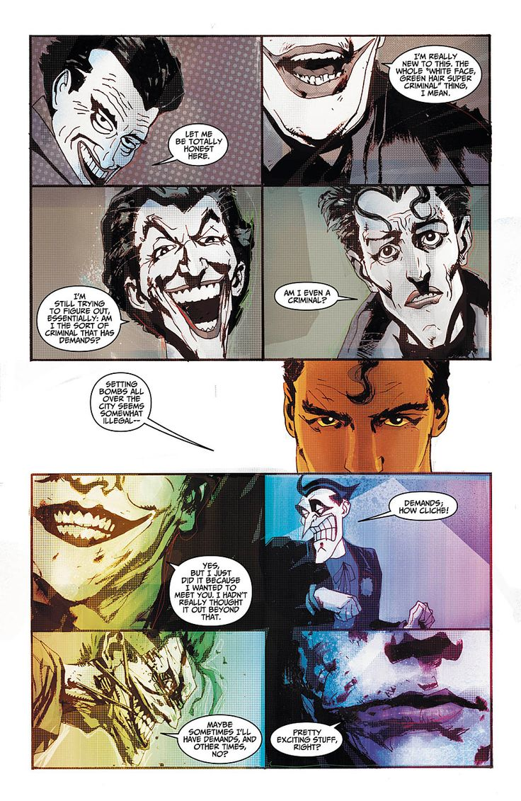 Preview Adventures Of Superman 14 Page 4 Of 5 Comic Book Resources Comics Joker Adventures Of Superman