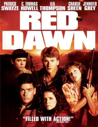If you didn't see this, there are many jokes and pop culture references you will never understand when hanging out with certain kinds of people : It is the dawn of World War III. In mid-western America, a group of teenagers bands together to defend their town, and their country, from invading Soviet forces.