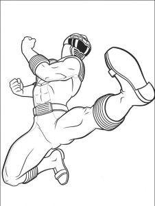 Imagens para pintar dos Power Rangers - 62
