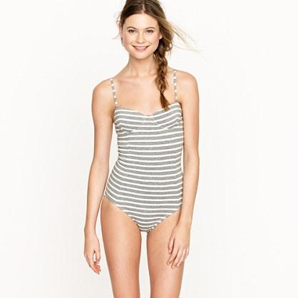 Stripe cotton underwire tank: Tank Swimsuit, Bathing Suits, Swimsuits Bikinis Beachs, Underwire Tank, Comfy Swimsuit, Cotton Underwire
