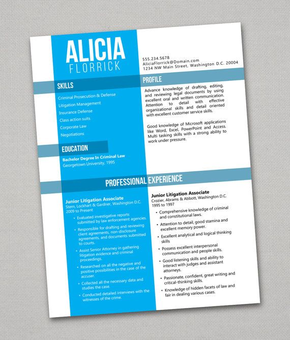 16 best Creative  Awesome Resumes images on Pinterest Creative
