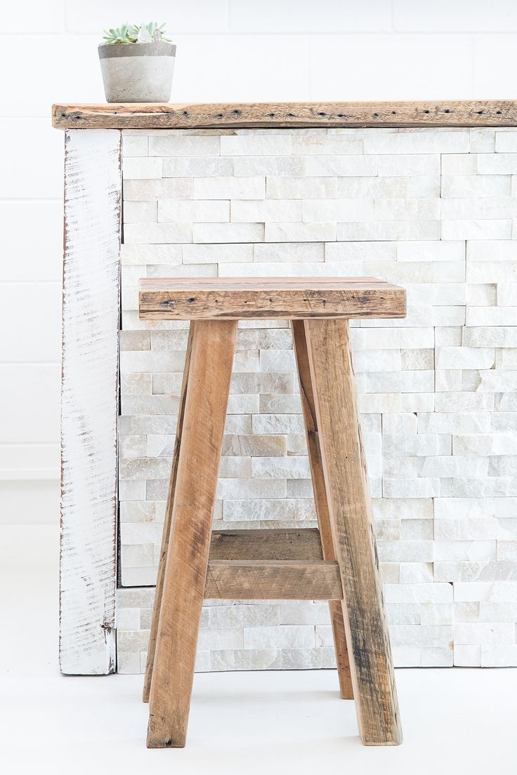 $285.00 The Hendrix High Stool is the perfect edition to any home. Its solid & versitile and comes in two finishes - Rustic & Whitwash. Just the right height for kitchen benches or use it as a side table in your bedroom or living area.