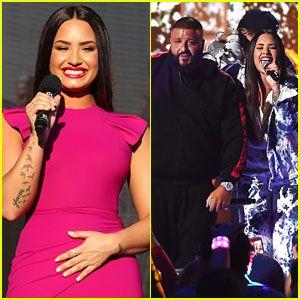 Demi Lovato Jet Conjuntos Para Sorpresa iHeartRadio Music Festival Rendimiento