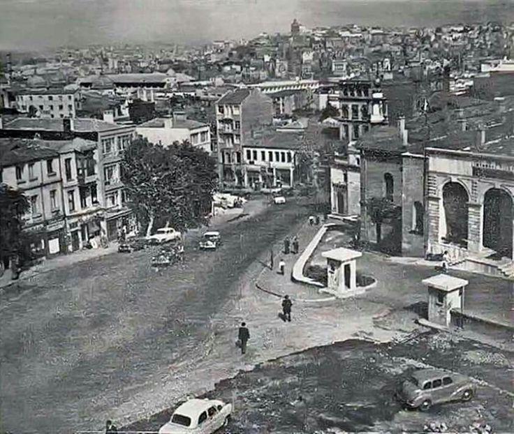 Cağaloğlu Yokuşu 1950's. Eminönü. Istanbul. Turkey.
