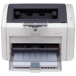 HP LaserJet 1022 Printer (Q5912A#ABA) by HP. $45.00. Amazon.com                The HP LaserJet 1022 printer is an affordable, compact, and reliable laser printer with the ability to produce professional-quality print jobs. It prints at speeds of up to 19 pages per minute, and delivers the first page in less than 8 seconds thanks to HP's proprietary instant-on technology. With the included HP LaserJet print cartridge and 1,200 dots per inch (dpi) print resolution, the printer...