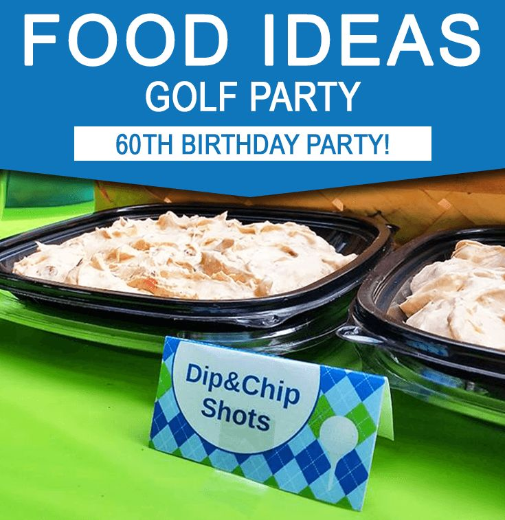 Find plenty of Golf Party Food Ideas & Inspiration here from Bob's Par-60 Surprise Birthday Golf Par-tee!