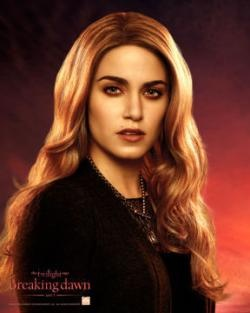 Rosalie Lillian Hale (born 1915 in Rochester, New York) is a vampire and a member of the Olympic Coven. She is the wife and soul mate of Emmett Cullen and the adoptive daughter of Carlisle and Esme Cullen, as well as the adoptive sister of Jasper Hale (in Forks, she and Jasper pretend to be twins), Alice, and Edward Cullen. Rosalie is the adoptive sister-in-law of Bella Swan and adoptive aunt of Renesmee Cullen, as well as the ex-fiancée of Royce King II.