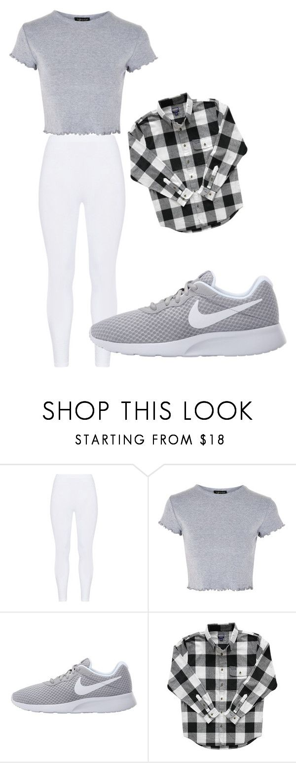 """Untitled #235"" by itsayak on Polyvore featuring Gozzip, Topshop and NIKE"