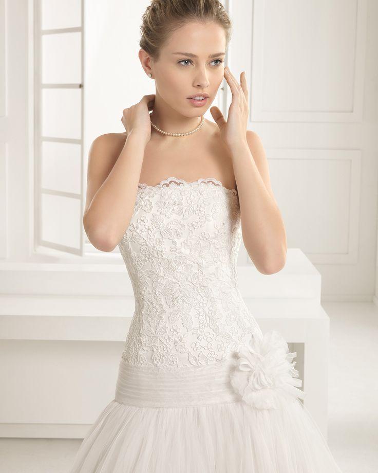 Eilene - Rosa Clará - Esküvői ruhák - Ananász Szalon - esküvői, menyasszonyi és alkalmi ruhaszalon Budapesten