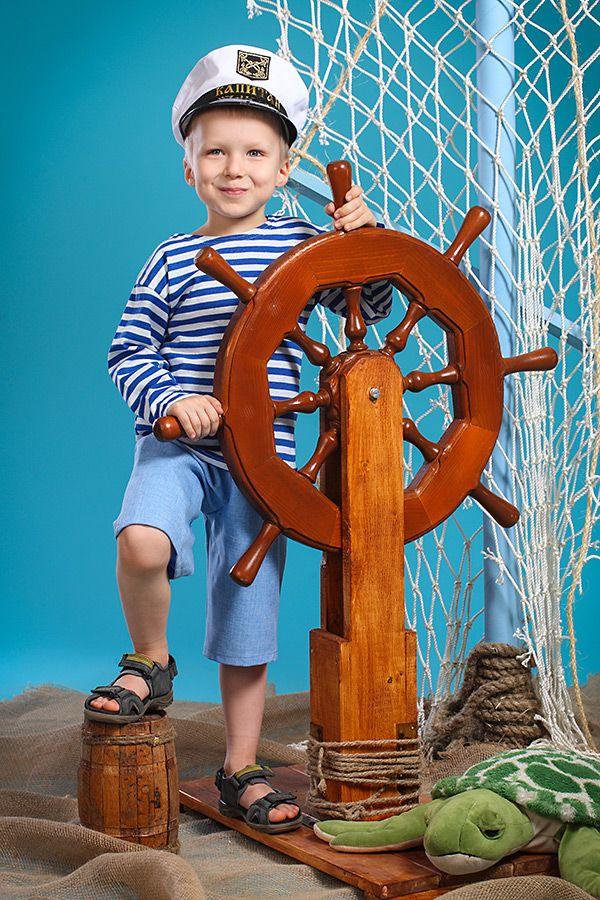 Яркие детские фотографии с 50%-ной скидкой только 21 и 28 мая. Морская фотосессия в студии