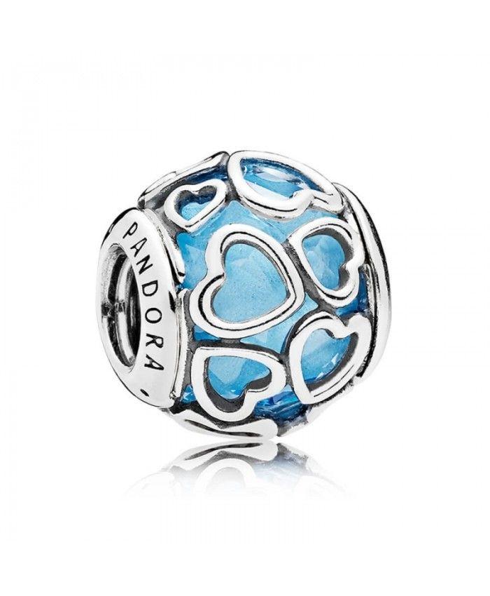 Pandora Women Silver Bead Charm - 792055PCZ RDUHWnodW