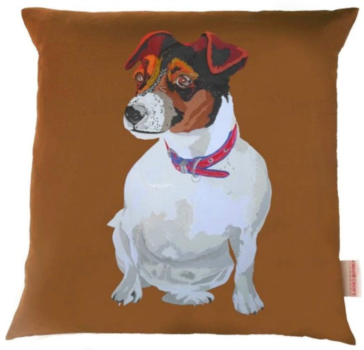 Coco the Jack Russell Cushion Cover