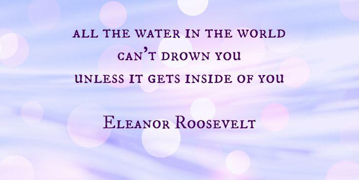 Eleanor Roosevelt: Water