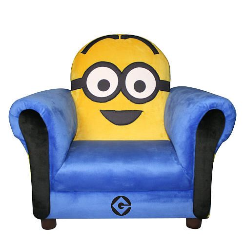 Despicable Me Minion Icon Chair Toysrus Minions Bedroom Decorminion
