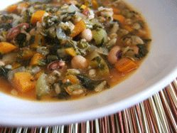 Hearty Tuscan soup ****