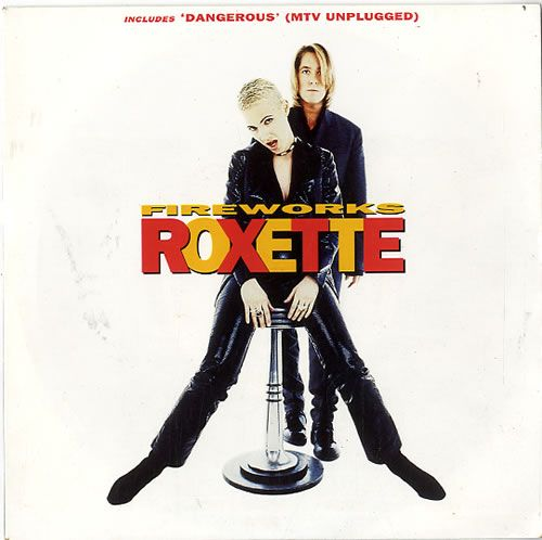 "For Sale - Roxette Fireworks UK  7"" vinyl single (7 inch record) - See this and 250,000 other rare & vintage vinyl records, singles, LPs & CDs at http://eil.com"