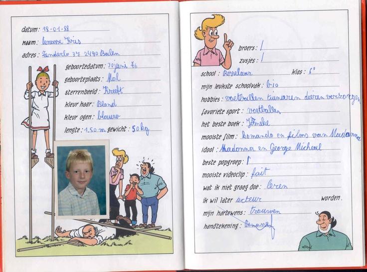 origineel kado: vriendenboekje op volwassen leeftijd laten invullen door vrienden/familie