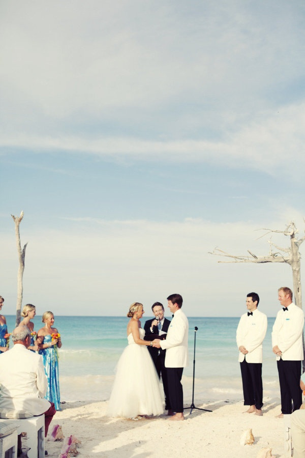 230 best Beach ceremony images on Pinterest | Weddings, At the ...