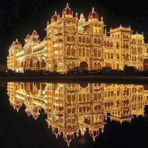 Mysore palace, karnataka,india...g