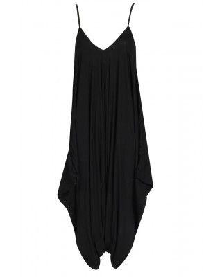 black harem jumpsuit