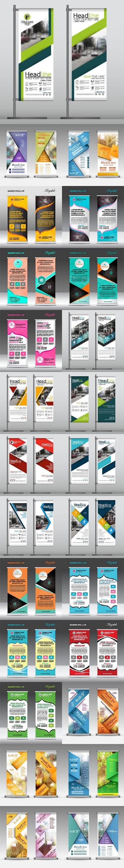 Advertising Roll up banner