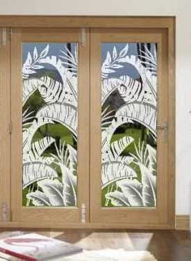 Bahama Breeze Decorative Window Film