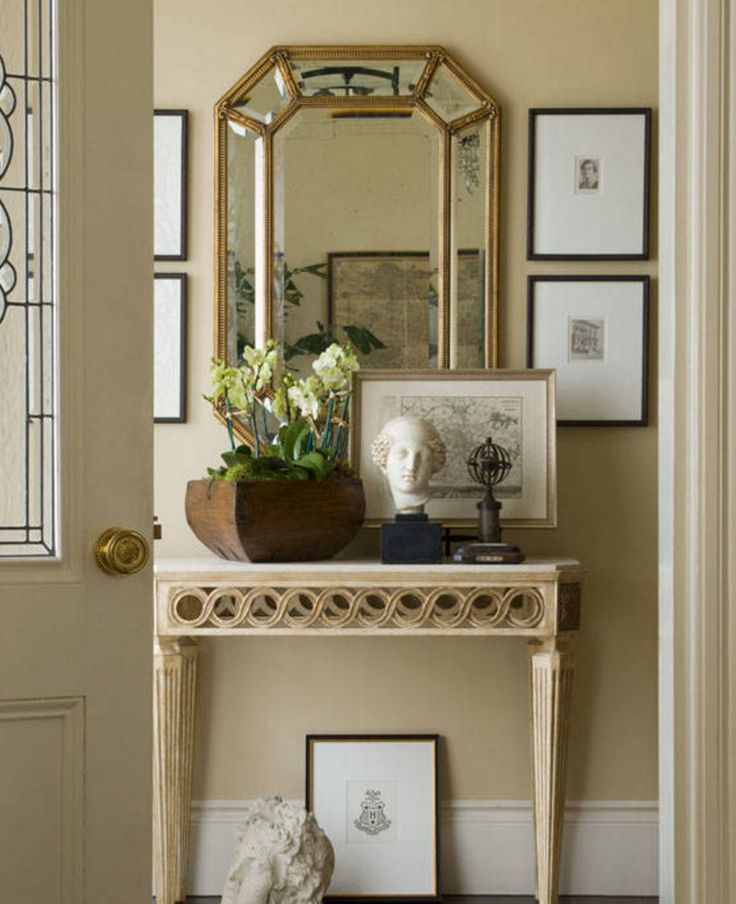 Narrow Foyer Xl : Traditional entry by cecilie starin design inc narrow