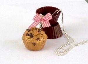 Sautoir muffin au chocolat