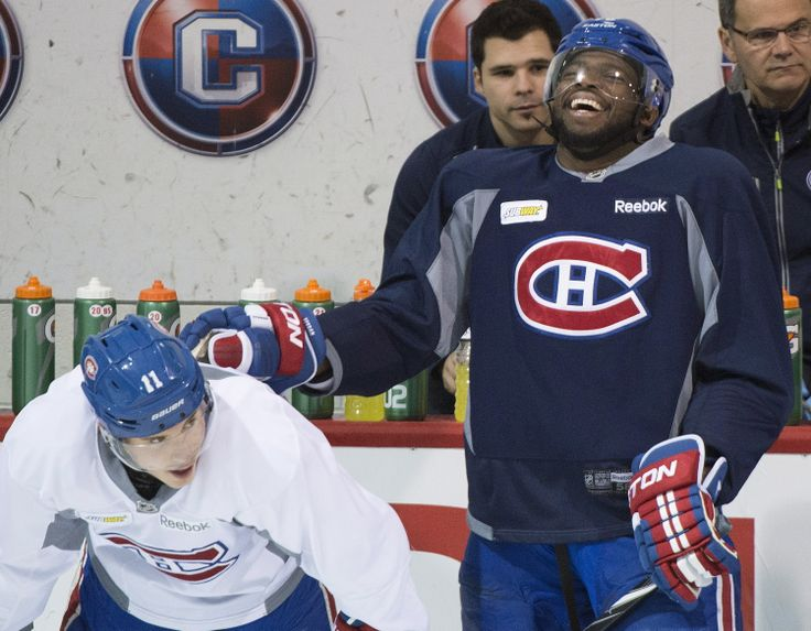 PK Subban & Brendan Gallagher, Canadiens Montreal. 2014 NHL Playoffs.