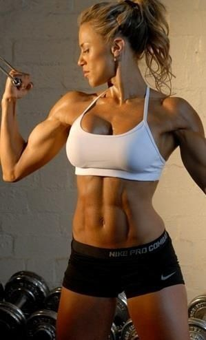 Dear Santa, all I want for Christmas is a body like that!