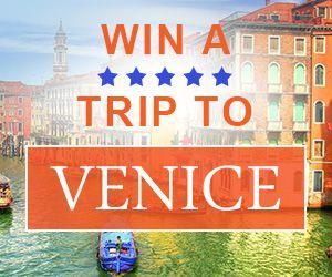 Win a 5* trip to Venice