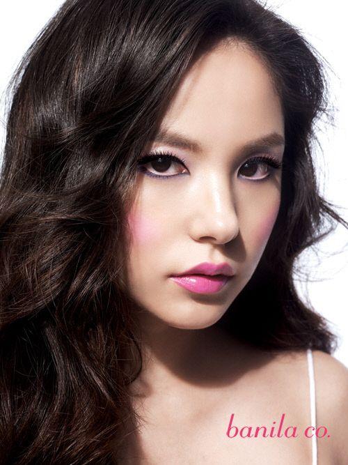 Min Hyo Rin's make up scheme